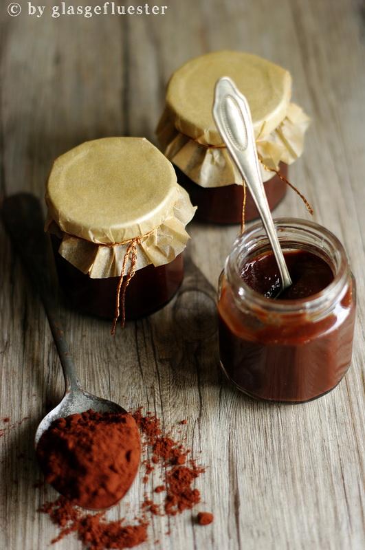 Birnen Schokoladen Marmelade by Glasgeflüster 3 klein