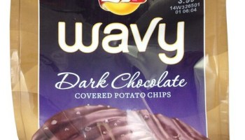 Limited Edition Lay's Wavy Dark Chocolate Covered Potato Chips