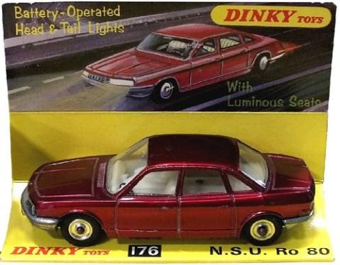 11 Dinky GB NSU Ro 80