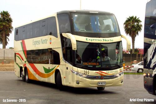 TACC Expreso Norte - La Serena (Chile) - Marcopolo Paradiso 1800 DD G7 / Mercedes Benz (DWWB52)