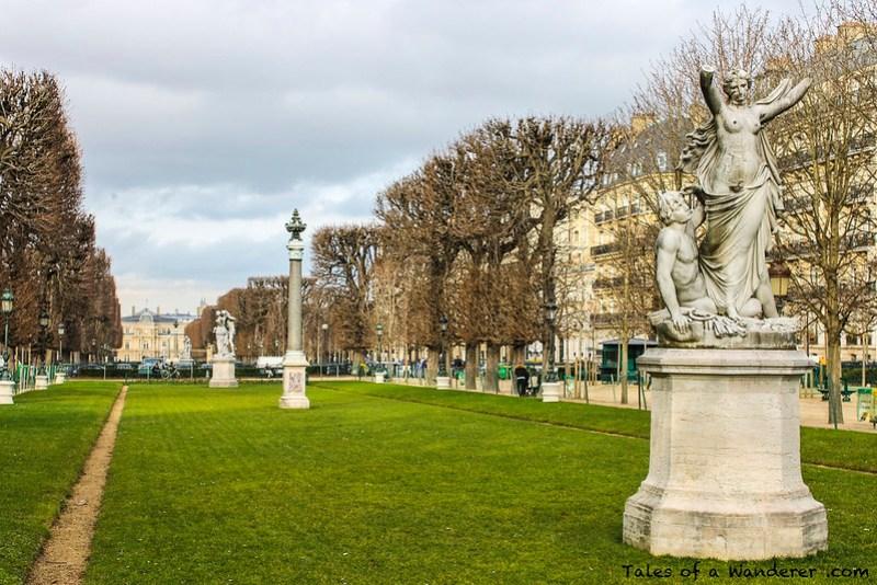 PARIS - Av de l'Observatoire - Palais du Luxembourg