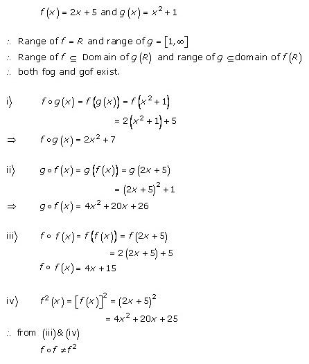 RD Sharma Class 12 Solutions Chapter 2 Functions Ex2.3 Q4
