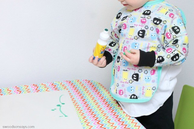 Free kid's bib pattern