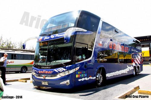 Nueva Andimar Vip - Santiago (Chile) - Marcopolo Paradiso 1800 DD G7 / Scania (FYBG18)