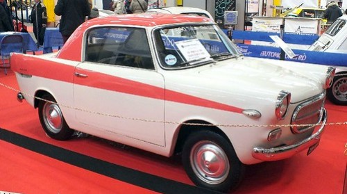 Fiat 500 Minnie Vignale 1958