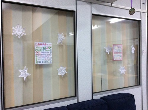 Office Christmas deco