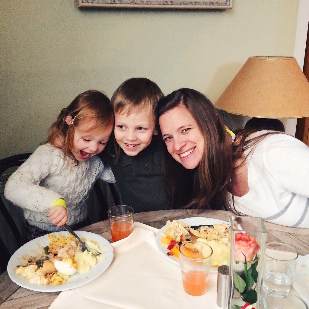 Our First Thanksgiving in Czech (11/27/14)
