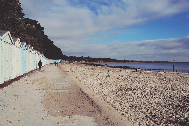 Highcliffe beach