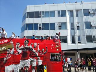 FA Cup Parade