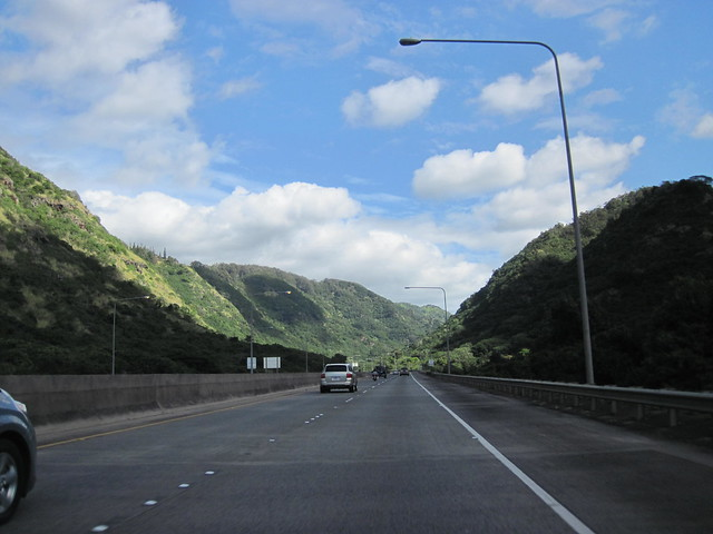 Picture from the H3 Freeway on Oahu