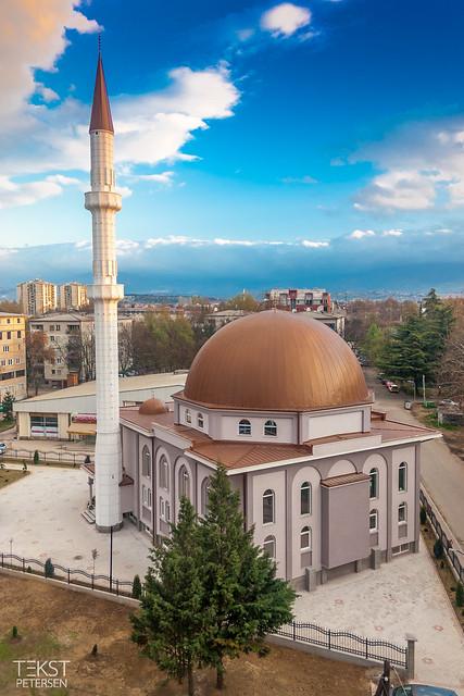 Moskébyggeri, Skopje, 2012-14