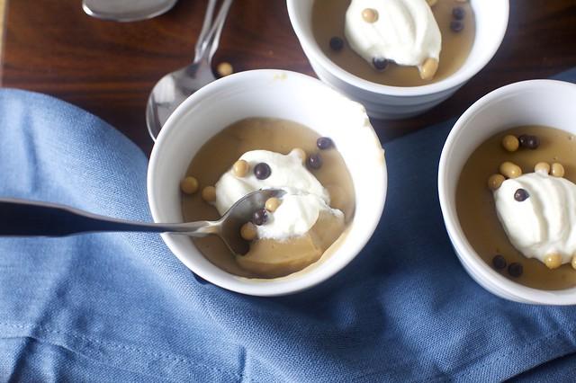 butterscotch pudding, not sharing