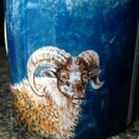 Beautiful Ingrid Neilsson mugs as prizes for our wee sheep.
