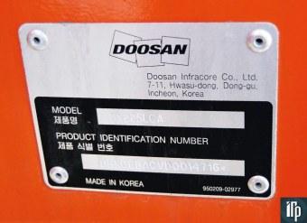 Doosan DX225: сделано в Корее