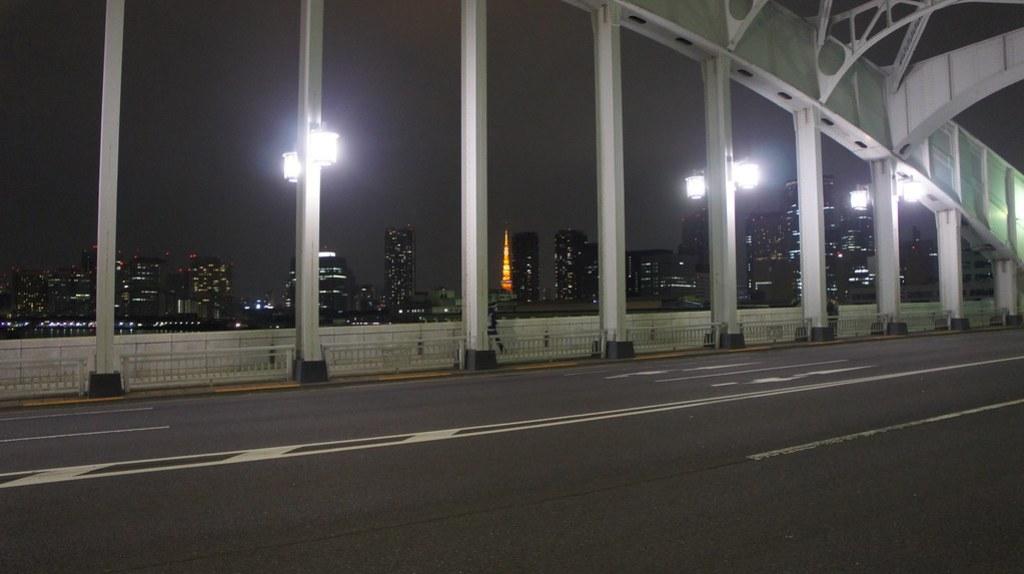 Kachidoki Bridge and Tokyo Tower