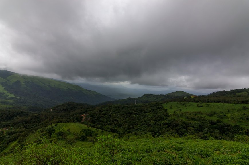 Magical clouds and refreshing greenery, Chikmagalur