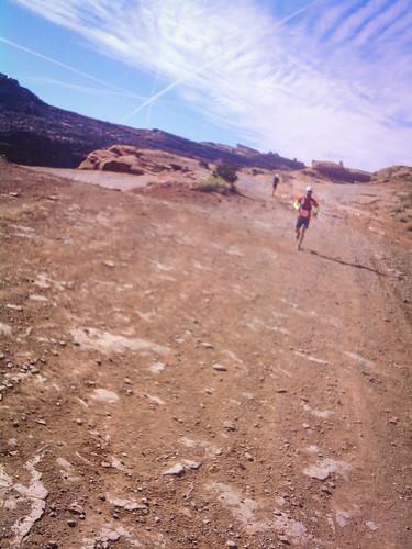 Moab Red Hot finish