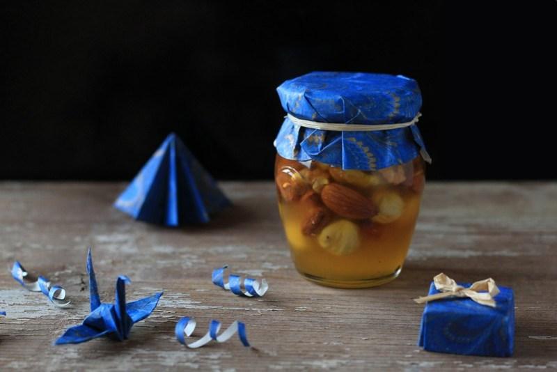 Nut in Honey a sweet handmade gift