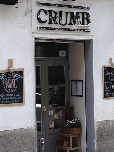 Crumb, Barrio Conde Duque. Madrid