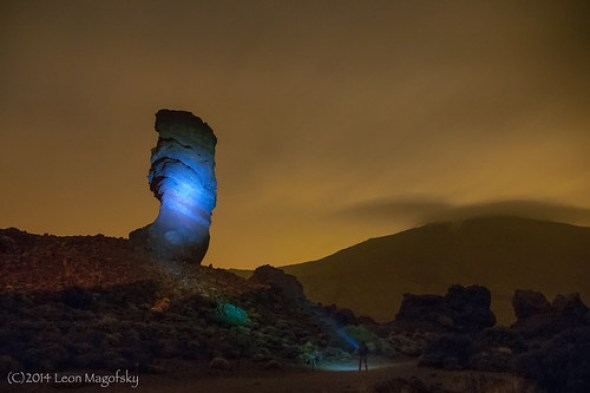 Spotlight on Pico del Teide - Nikon D2x