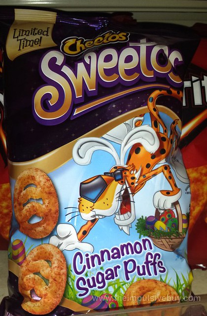 Cheetos Sweetos Cinnamon Sugar Puffs