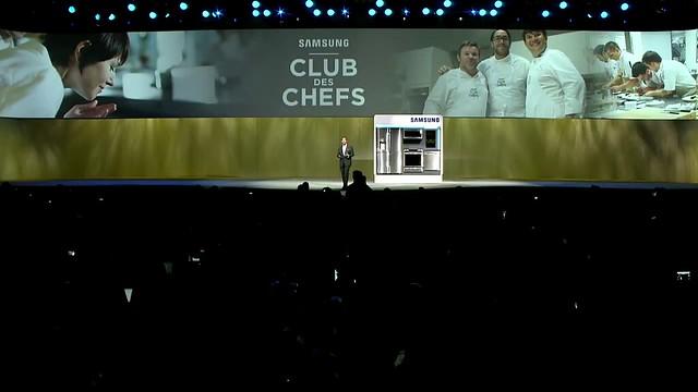 CES 2015 Samsung Conferencia