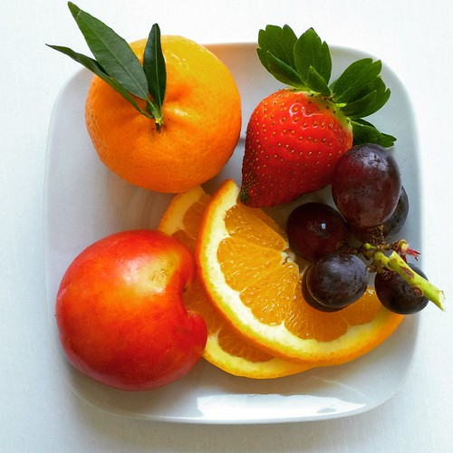 Photo:Fruits on a plate (testing iPhone 6+) By:Sergey Galyonkin