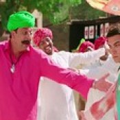Aamir Khan And Sanjay Dutt Dancing Scene In Movie PK - Stylish HD Wallpapers.