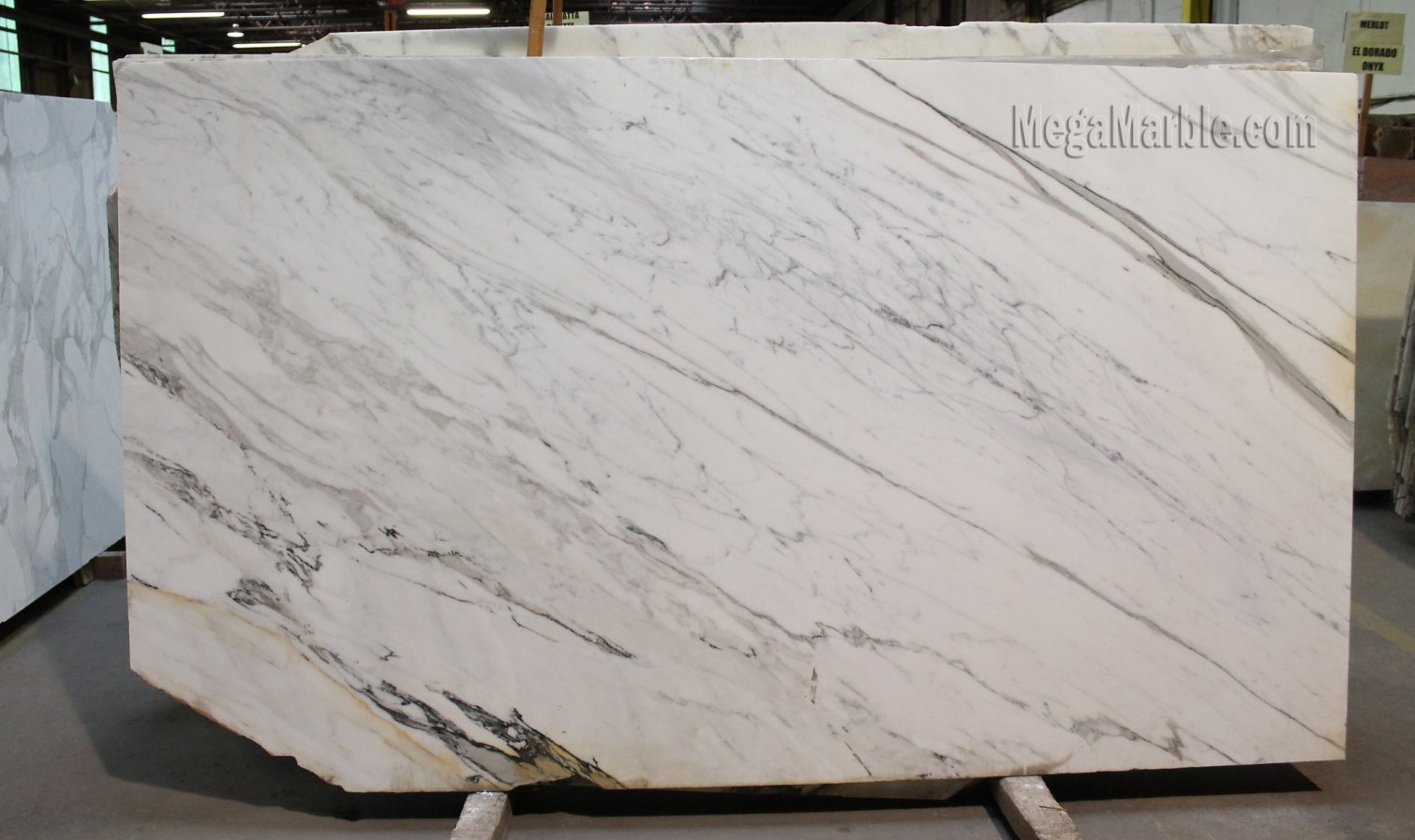 Calacatta Natural Stone Marble Slabs