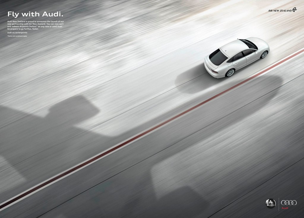 Audi - Fly with Audi