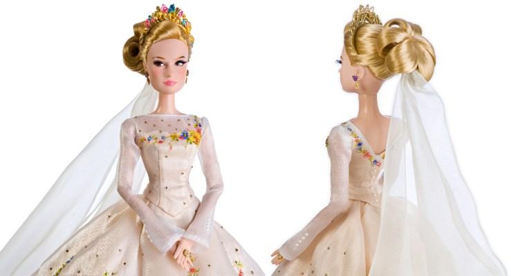 Limited edition wedding Cinderella nukke