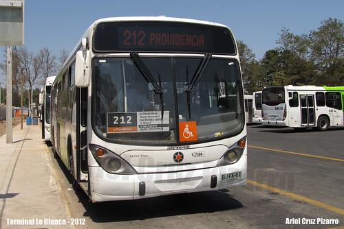 Transantiago - Subus Chile - Marcopolo Gran Viale / Volvo (BJFK62)