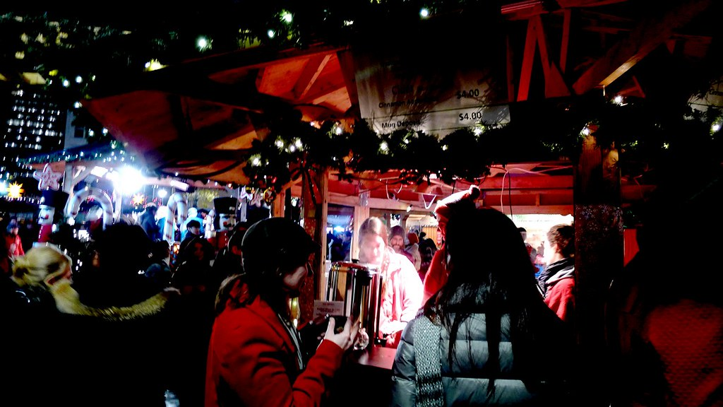Vancouver Christmas Market QE Theatre instanomss nomss