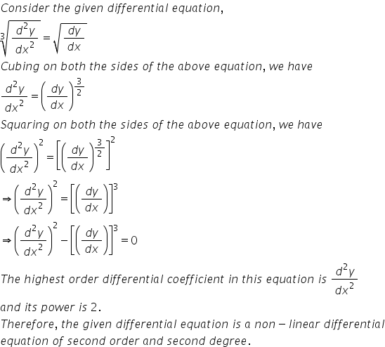 RD Sharma Class 12 Solutions Chapter 22 Differential Equations Ex 22.1 Q6