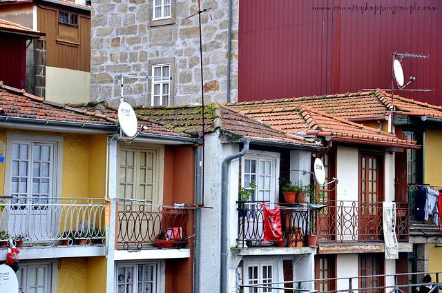 Porto vintage houses