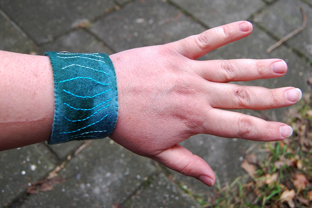 Cuff #10 - on the wrist (other side)