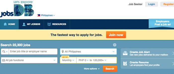 Job Search Websites in the Philippines - JobsDB