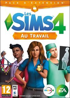 Pochette Les Sims 4 au travail