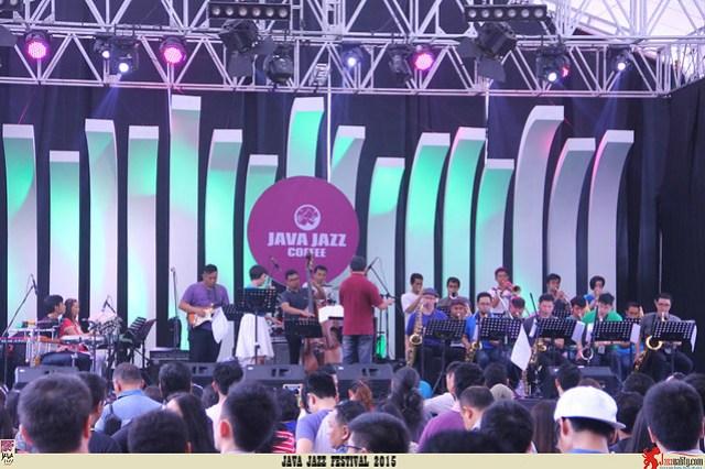 Java Jazz Festival 2015 Day 2 - Salamander Big Band