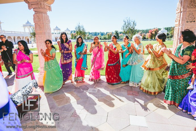 Atlanta Indian Fusion Wedding at BAPS Shri Mandir