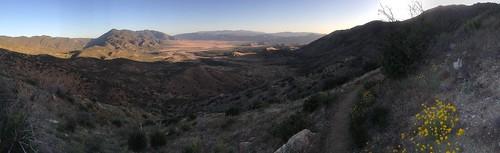 Descent into desert