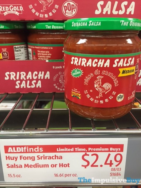 Red Gold and Huy Fong Sriracha Salsa