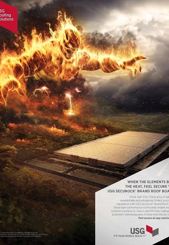 USG Corporation - Fire