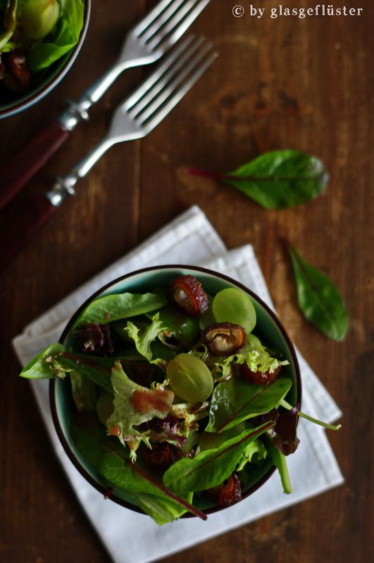 Salat mit Holunderdressing by Glasgeflüster 4 klein