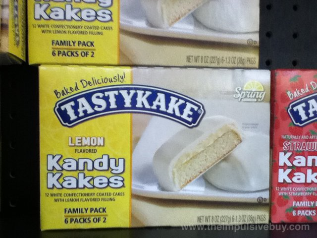 Tastykake Spring Exclusive Lemon Kandy Kakes