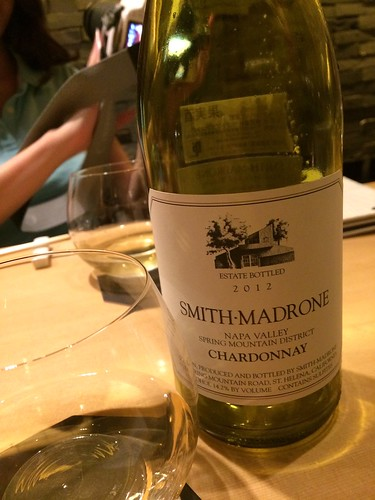 Smith-Madrone Chardonnay Napa Valley@瀧口