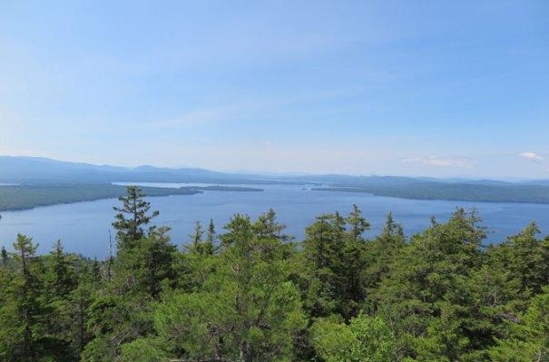 Bald Mountain Maine View Mooselookmeguntic Lake