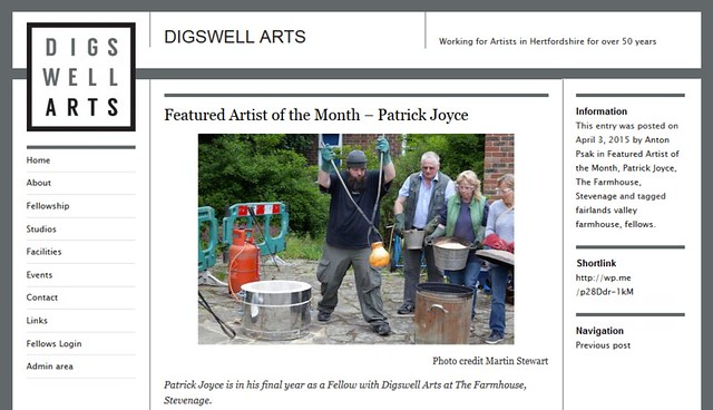 Diswell Arts - Artist of the Month