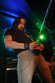 Tommy Daly of Conjuring Fate, Limelight, Belfast, 28 March 2015