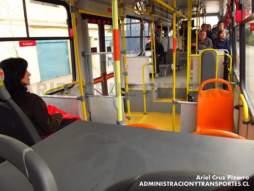 Transantiago - Express de Santiago Uno - Marcopolo Gran Viale / Scania (CJRT16)